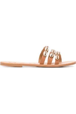 MANEBI Embellished strappy sandals