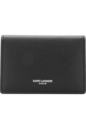 Saint Laurent Paris leather card holder