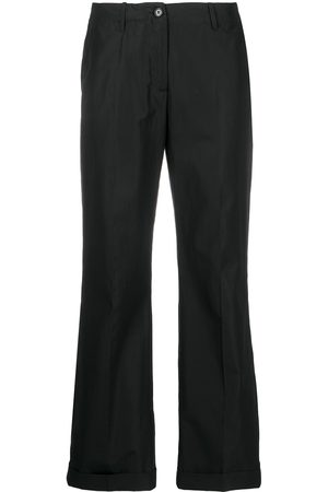 Aspesi Low-waist straight trousers
