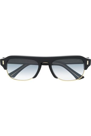 CUTLER & GROSS Large frame tinted sunglasses