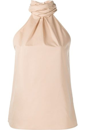 Givenchy Cotton halterneck top