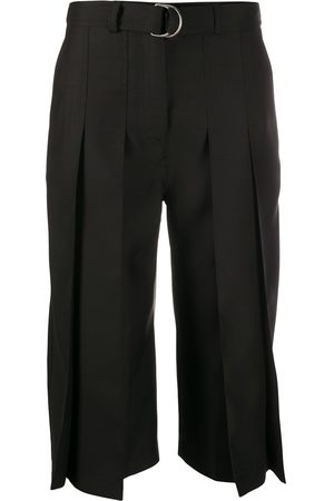Lanvin High-waisted pleated culottes