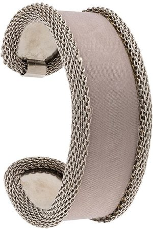 Gianfranco Ferré 2000s chain mesh bracelet