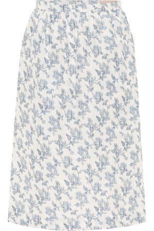 BROCK COLLECTION Quadratic cotton-blend midi skirt
