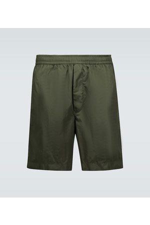 Moncler Bermuda technical fabric shorts