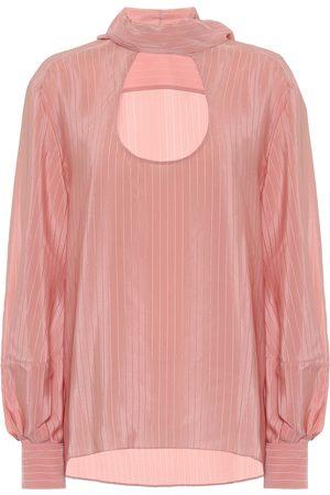 Chloé Striped silk blouse