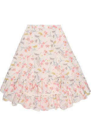 BONPOINT Nala floral cotton skirt