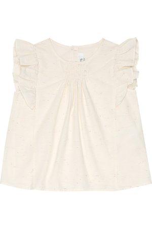BONPOINT Girls Tops - Nilunes cotton-blend top