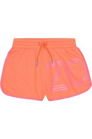 Kenzo Logo swim trunks