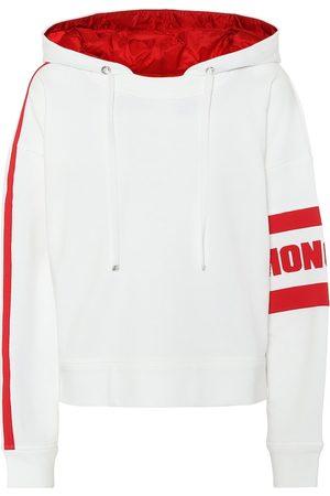 Moncler Logo cotton-blend hoodie