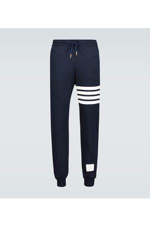 Thom Browne 4-Bar cotton trackpants