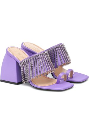 NODALETO Bulla Preston satin sandals