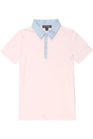Loro Piana Stretch-cotton polo shirt