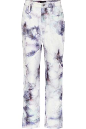 Isabel Marant Eloisa high-rise straight jeans