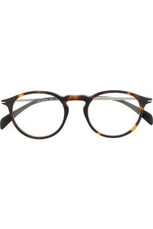 Eyewear by David Beckham Round-frame clip-on sunglasses