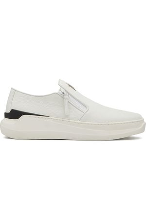 Giuseppe Zanotti Conley zipped low-top sneakers