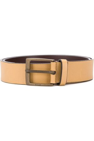 Gianfranco Ferré 1990 leather buckle belt