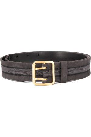 Gianfranco Ferré 1990 textured panel belt