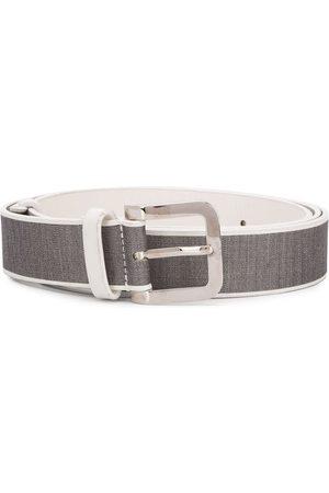 Gianfranco Ferré 1990 two-tone belt