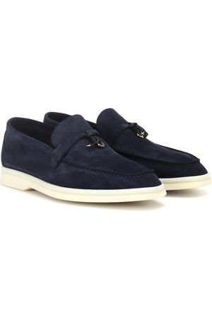 Loro Piana Women Loafers - Summer Charms Walk suede loafers