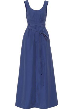 Plan C Cotton-blend midi dress