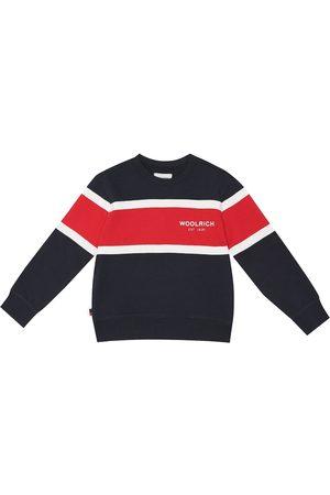 Woolrich Logo cotton-jersey sweatshirt