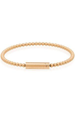 Le Gramme 18kt gold Le 15 Grammes beaded bracelet