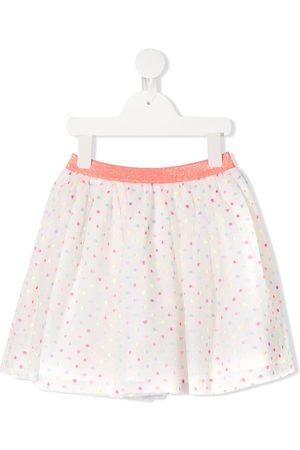Billieblush Polka-dot tulle skirt