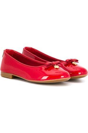 Dolce & Gabbana Bow detail ballerinas