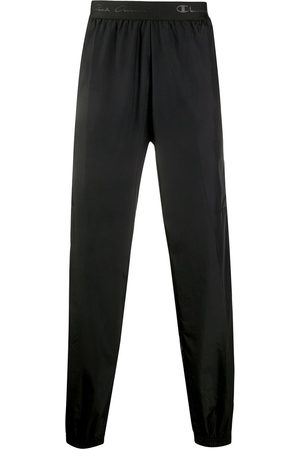 Rick Owens Logo lined track pants