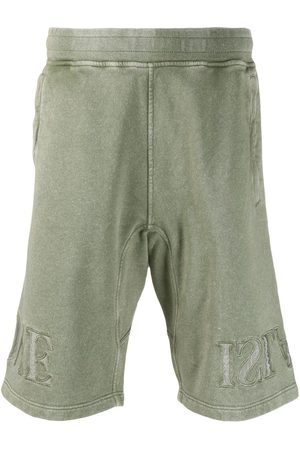 Stone Island Fleece dyed track shorts