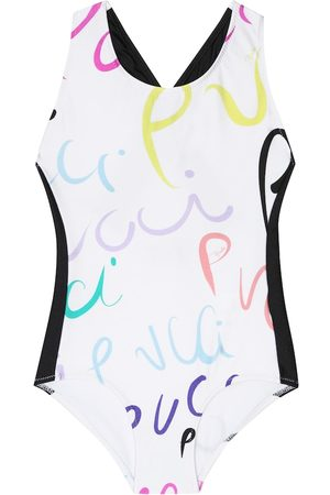 Emilio Pucci Kids Printed swimsuit