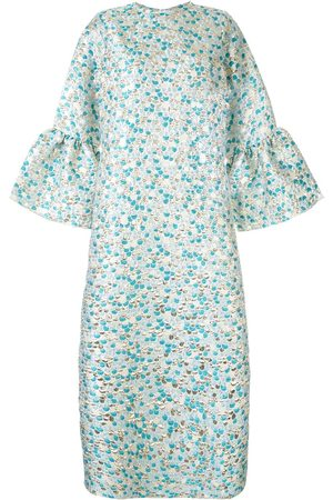 Bambah Zeynab scale print kaftan dress