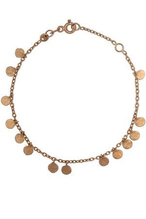 Milka Women Bracelets - 14kt dangle disc bracelet
