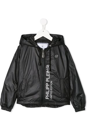 Philipp Plein Logo hooded jacket