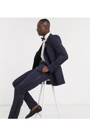 ASOS Tall skinny tuxedo suit trouser in