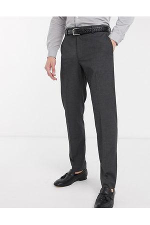 ASOS Men Skinny Pants - Slim smart trousers in charcoal