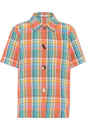 REJINA PYO Nico checked shirt