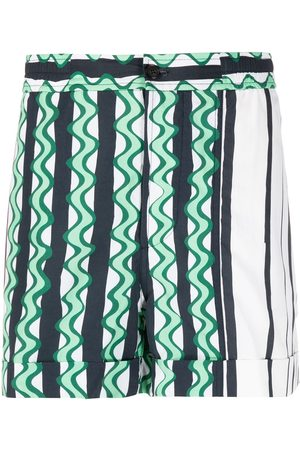 Neil Barrett Striped swim shorts