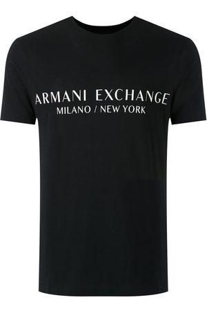 Armani Men Short Sleeve - Logo print T-shirt