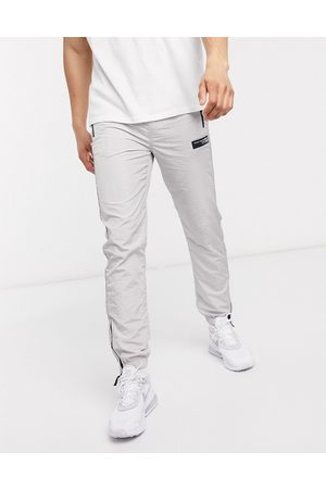 River Island Concept track pant in light