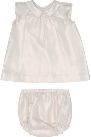 BONPOINT Baby Eoline dress and bloomers set