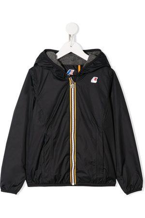 K-Way Hooded rain jacket