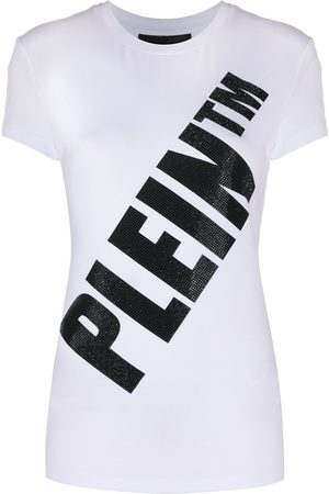 Philipp Plein Women Short Sleeve - Logo print T-shirt