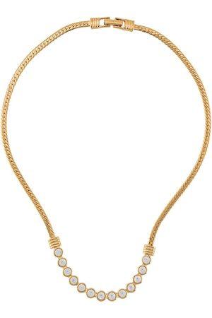 Susan Caplan 1980s Swarovski necklace