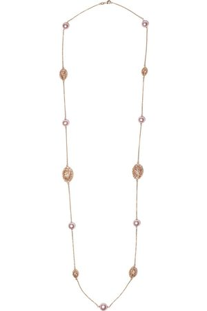 Yoko London Women Necklaces - 18kt rose gold Classic Freshwater pearl necklace