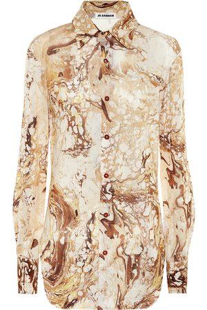 Jil Sander Printed silk shirt