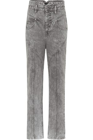 Isabel Marant Women Straight - Exclusive to Mytheresa – Anastasia high-rise straight jeans