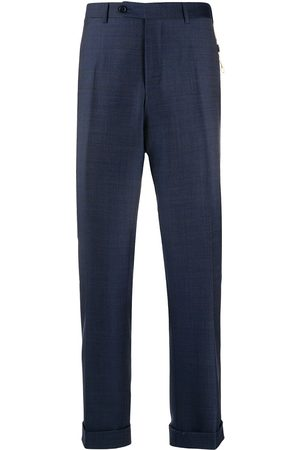 CANALI Men Formal Pants - Slim-fit tailored trousers