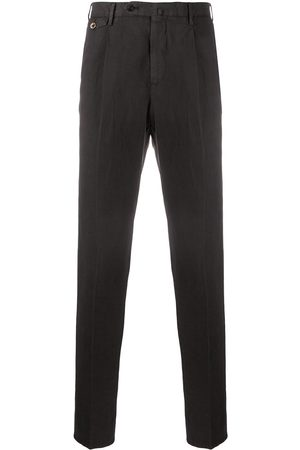 PT01 Skinny fit pleat detail trousers